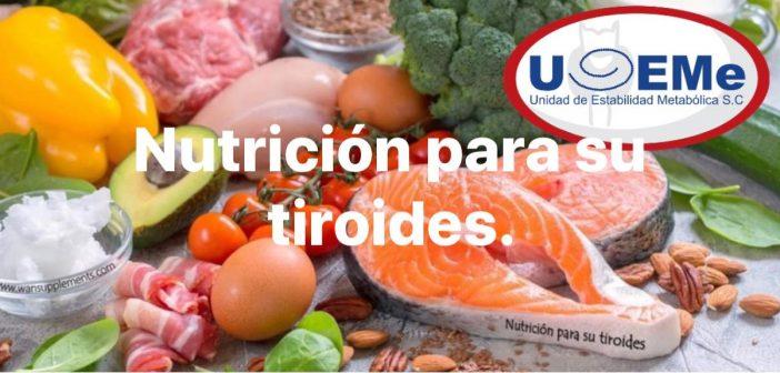Tiroides y Nutrición